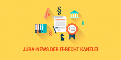 Google Remarketing, Amazon-Katalogseiten, Kundendaten und Bärentöter – Jura-News IT-Recht Kanzlei im Juni 2017