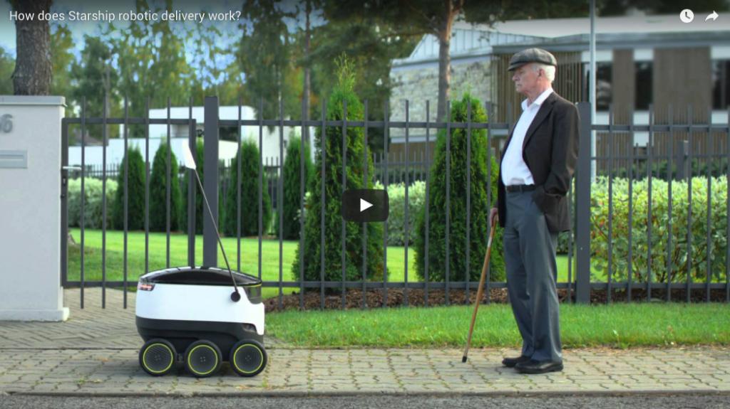 Lieferroboter in Deutschland: Erste Tests mit Media Markt und Hermes