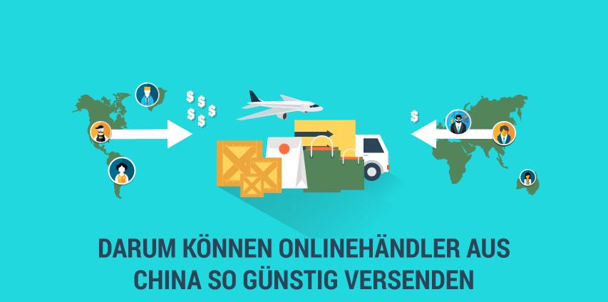Warum können Onlinehändler aus China so günstigen Versand anbieten?
