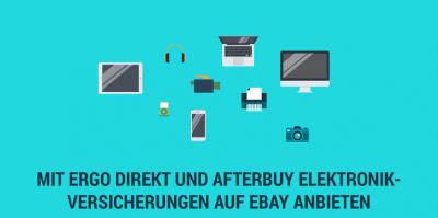 Jetzt für Ihre eBay Produkte Garantieverlängerungen und Elektronikversicherungen mit anbieten