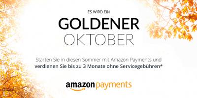 Jetzt Amazon Payments im Shop aktivieren und bis zu 3 Monate keine Servicegebühr zahlen
