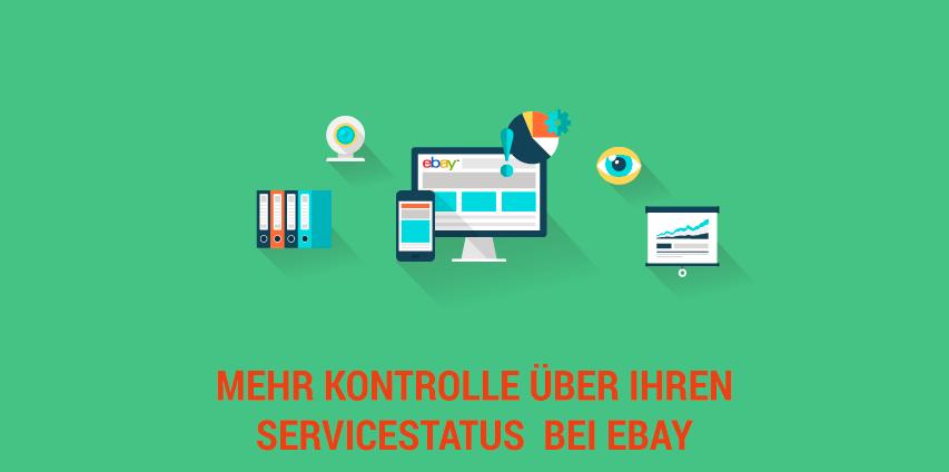Mehr Kontrolle über Ihren Servicestatus bei eBay