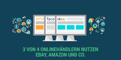 3/4 der Onlinehändler nutzen digitale Marktplätze