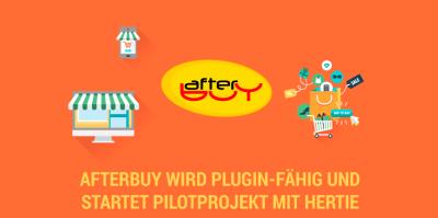 Afterbuy wird Plugin-fähig, Pilotprojekt mit Hertie gestartet