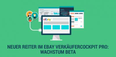 """Verkäufercockpit Pro – Mit der BETA-Funktion """"Wachstum"""" mehr Insights über Ihr eBay-Geschäft"""