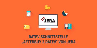 Neue Anbindung: Afterbuy 2 DATEV Schnittstelle von JERA