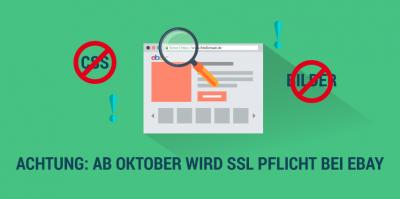 Achtung: Ab Oktober wird SSL Pflicht bei eBay