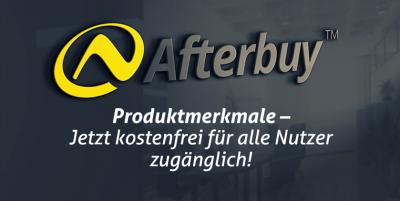 """Afterbuy schenkt seinen Nutzern dauerhaft das Modul """"Produktmerkmale"""""""