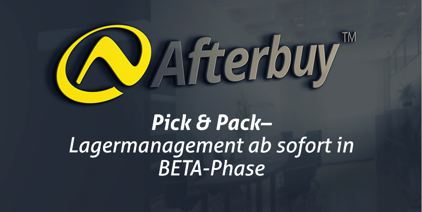 Pick & Pack als Teil des Lagermanagement
