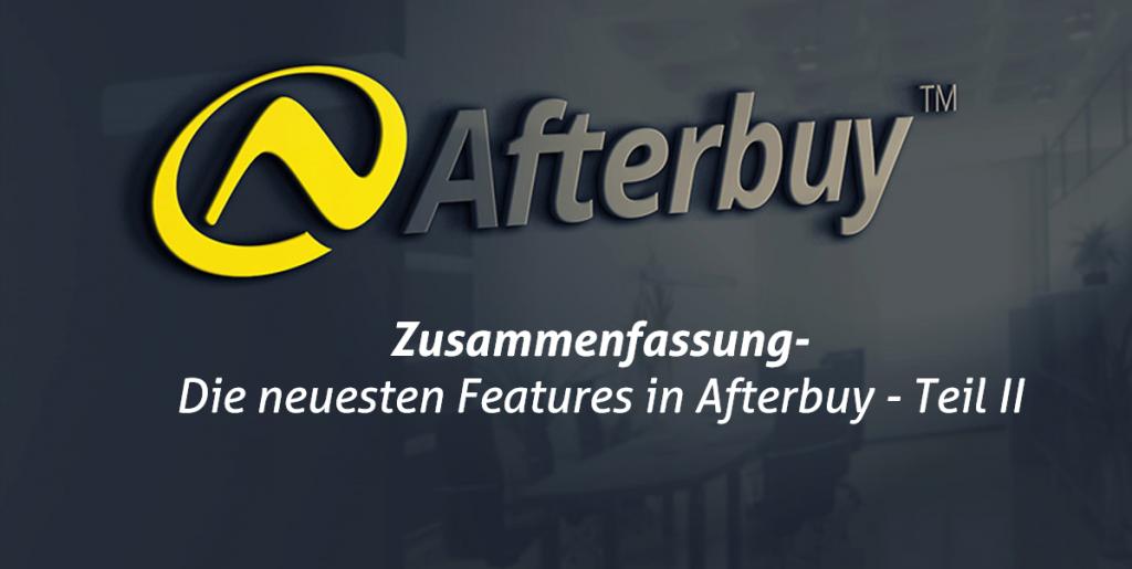 What´s new? – Die neuesten Features in Afterbuy 2018 II