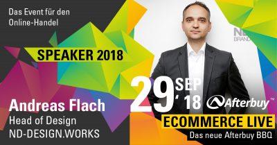 Speaker ECOMMERCE LIVE: Produktdesigner Andreas Flach