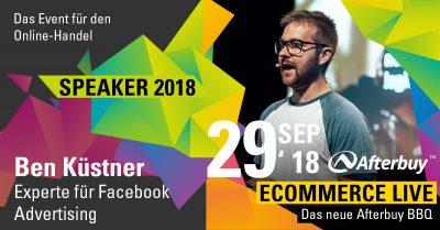 Speaker ECOMMERCE LIVE: Ben Küstner