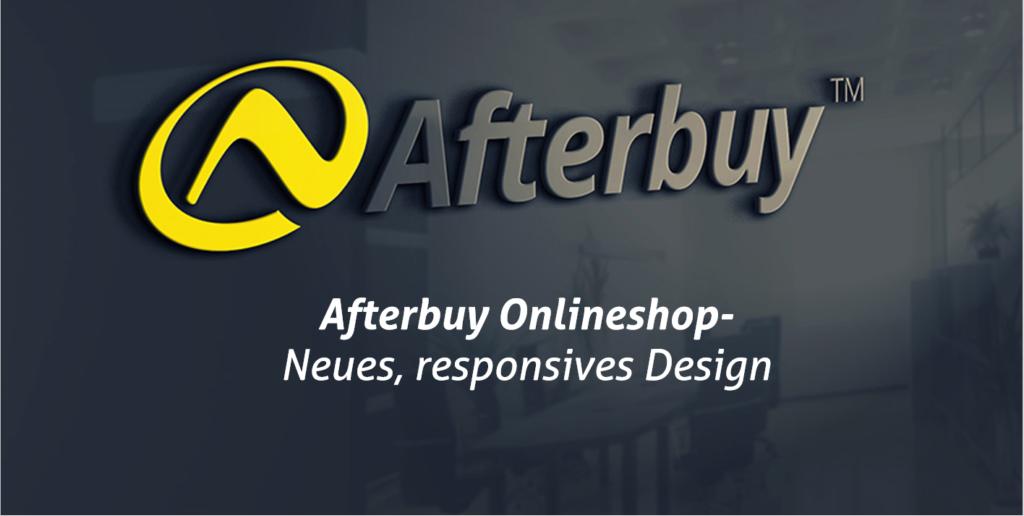 Afterbuy Onlineshop erstrahlt im neuen Glanz