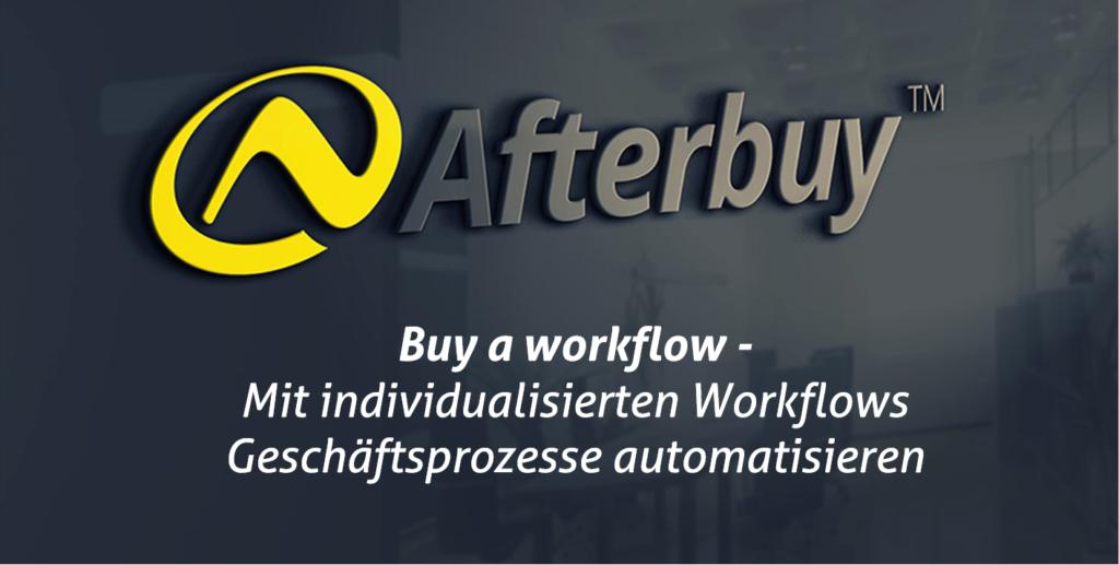Buy a workflow – Unsere Entwickler gestalten für Sie die Workflows!