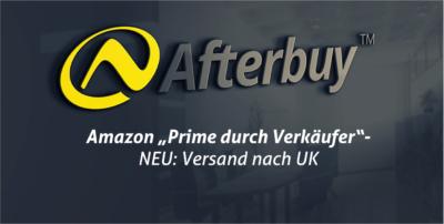 """Amazon """"Prime durch Verkäufer"""" – Paketscheine jetzt auch für UK erstellen!"""