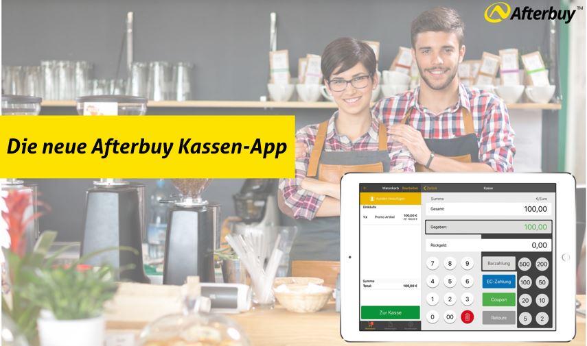 Die Kassen-App: Das neue Kassensystem von Afterbuy