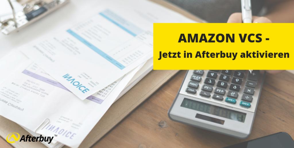 Amazon VCS jetzt in Afterbuy aktivieren