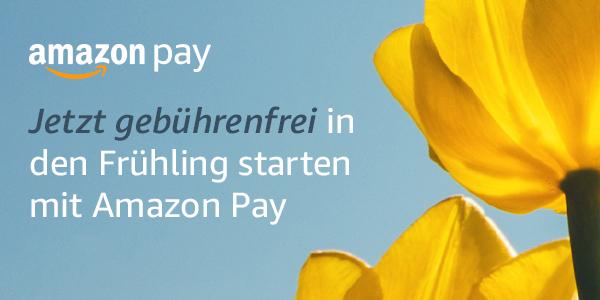 Mit Amazon Pay gebührenfrei in den Frühling starten!