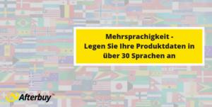 Mehrsprachigkeit in Afterbuy