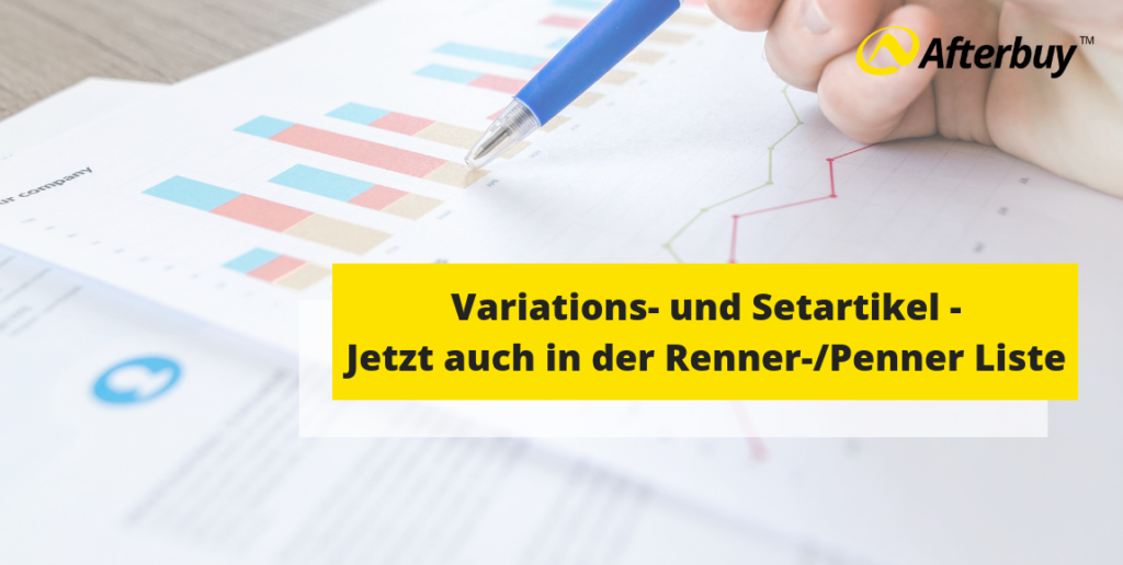 Statistik: Jetzt mit Variations- und Setartikeln in der Renner-/ Penner Liste