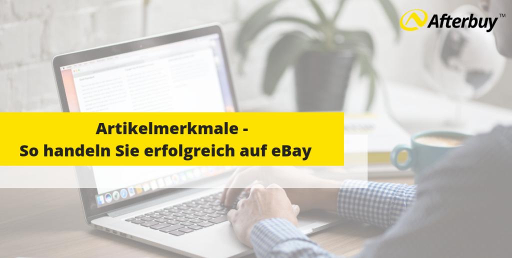Die richtige Pflege Ihrer Artikelmerkmale – So handeln Sie erfolgreich auf eBay