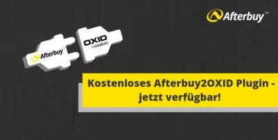 Kostenloses OXID Plugin verfügbar