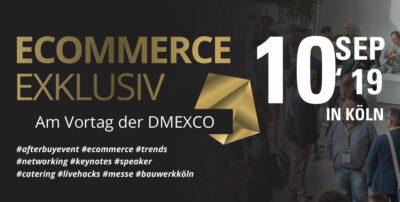 ECOMMERCE EXKLUSIV – Das Afterbuy Event am Vortag der DMEXCO