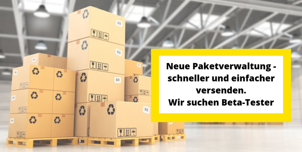 Produkte packen leichter gemacht mit der neuen Paketverwaltung