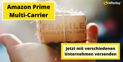 Amazon Prime Multi-Carrier: jetzt mit verschiedenen Unternehmen versenden