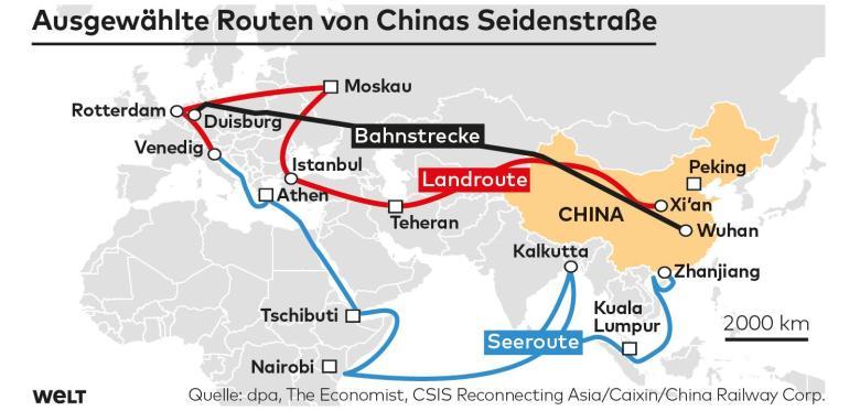 Chinas neue Seidenstraße