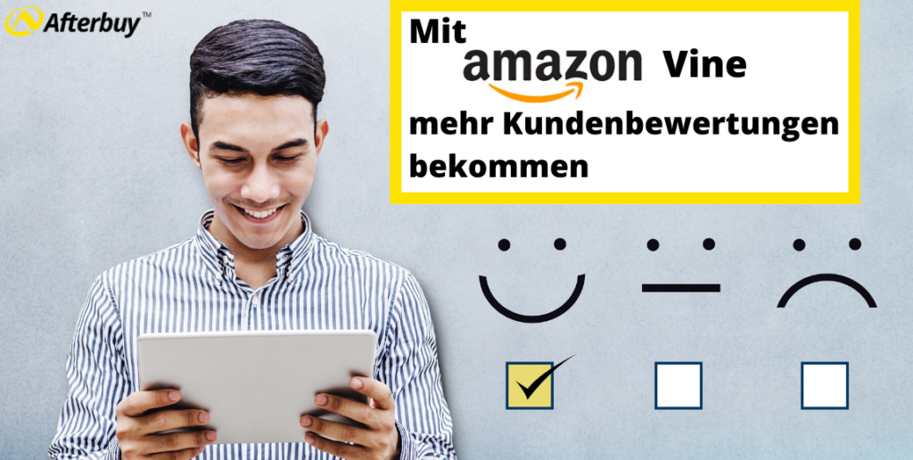 Mit Amazon Vine mehr Kundenbewertungen bekommen