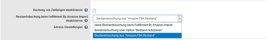 Amazon FBA Mindestbestand