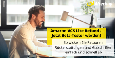 Amazon VCS Lite Refund – Jetzt Beta-Tester werden!