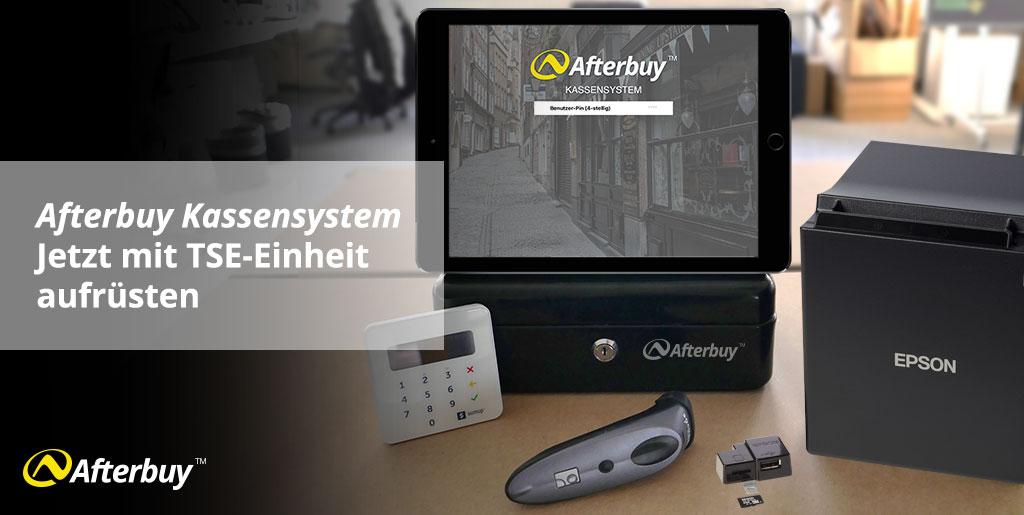 Mit der Afterbuy Kassen-App bereit für moderne Kassensysteme mit TSE Zertifikat