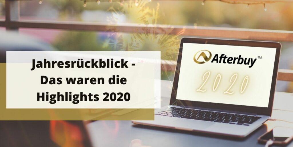 Die Afterbuy Highlights 2020
