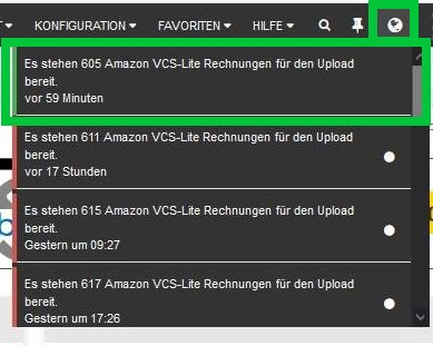 VCS Lite Upload Notification