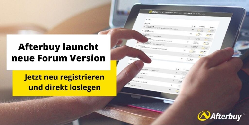Afterbuy launcht neue Forum-Version